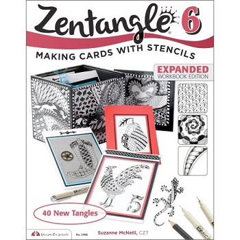 Zentangle #6 by Suzanne McNeill