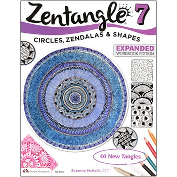 Zentangle #7 Expanded by Suzanne McNeill