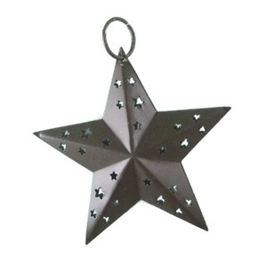 Rustic Country Star - 4""