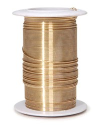 Coloured Wire - Gold - 24 Gauge