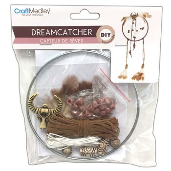 "Dream Catcher Kit - 5"" Circle-Natural"