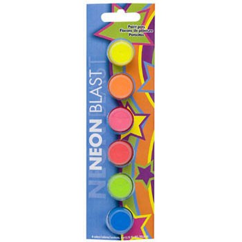 Americana Paint Pot Set - Neon Blast