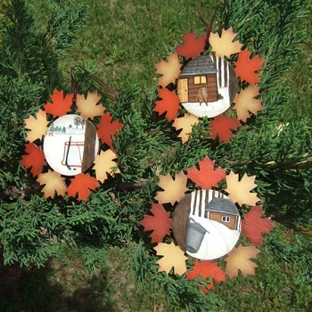 Maple Leaf Snowflakes Packet by Cindy Dawson