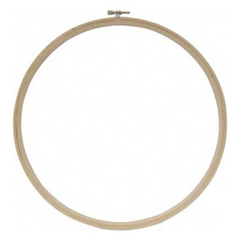 Wooden Embroidery Hoop - 8""