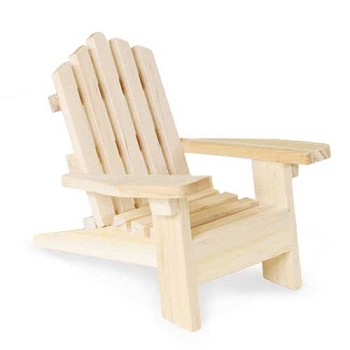 "Adirondack Chair - 3 3/4"" tall"