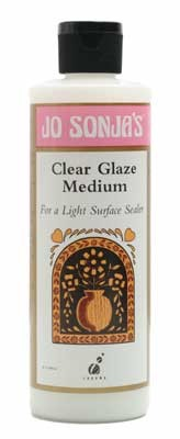 Jo Sonja Glazing Medium - 8oz