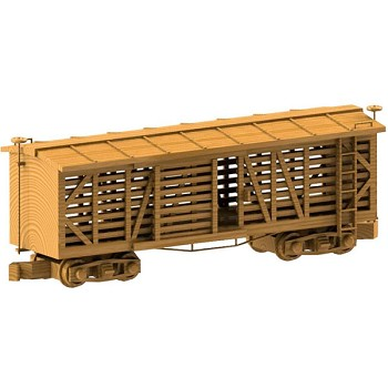 "The Cattle Car Plan (18"" x 7"" x 5"")"