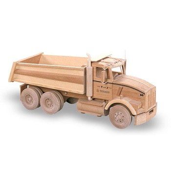 "Kenworth Dump Truck Plan (18"")"