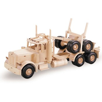 "Logging Truck Plan (38"")"