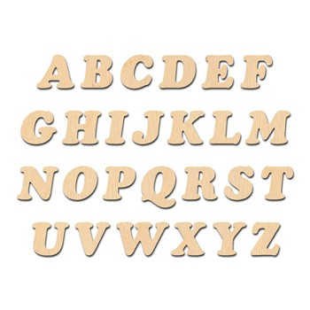 "Cooper Font Letters - 2"" tall"