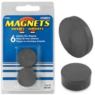 "Magnet - 1"" Dot - 6pc"