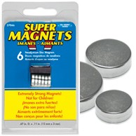 Super Magnets - Medium - 6pc