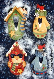 Renee Mullins - Winter Home Ornaments Packet
