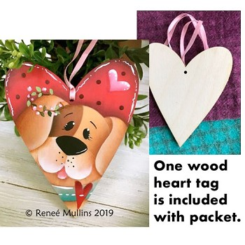 Renee Mullins Packet Kit - Puppy Love Tag