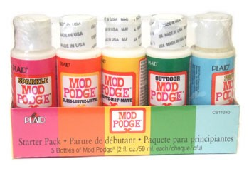 Mod Podge Starter Pack - 5pc