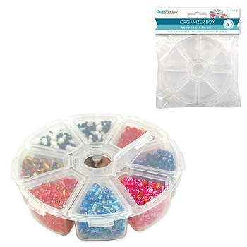 Plastic Craft Storage Wheel - 4""