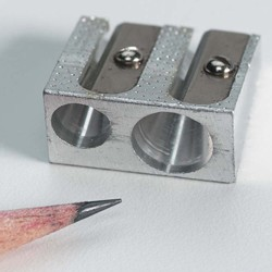 Pencil Sharpener with 2 holes