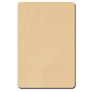 "Rectangle with Rounded Corners - 3"" x 2"""