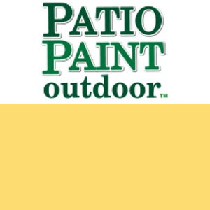 Patio Paint Deep Buttercup - 2oz