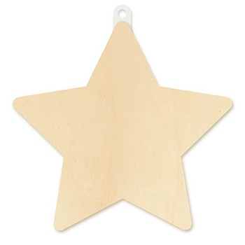 Plaque - Star 8 1/2""