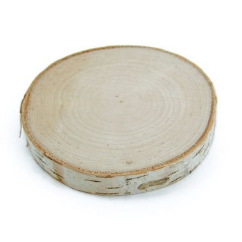 "Birch Round - Approx 3"" to 5"" dia x 1/2"" thick"
