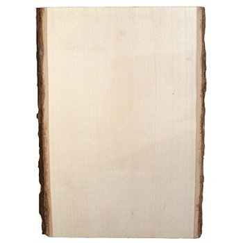 "Basswood Plank - Medium (13"" x 9"" to 11"")"