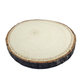 "Basswood Round - Approx 3"" to 5"" dia x 1/2"" thick"