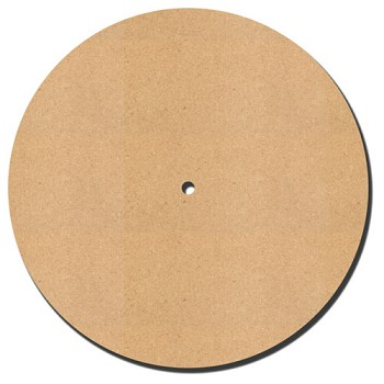 "Clock Round with 3/8"" hole - 12"" x 1/4"" MDF"