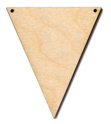 Triangle Banner - 3 1/2""