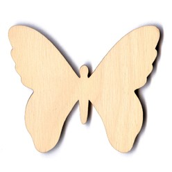 Classic Butterfly - 4""