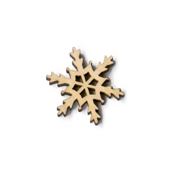 Tahoe Snowflake - Scroll - 1""