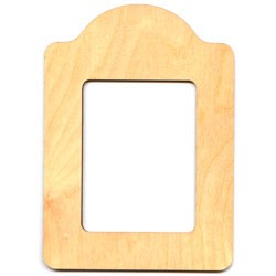 "Roundtop Frame - 5"" x 7"""