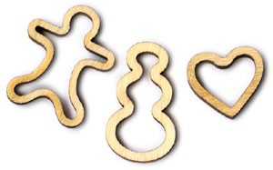 Between the Vines 10 Cookie Cutter Shapes 3pc (retired shape)