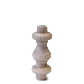Spindle - Birch - 2""