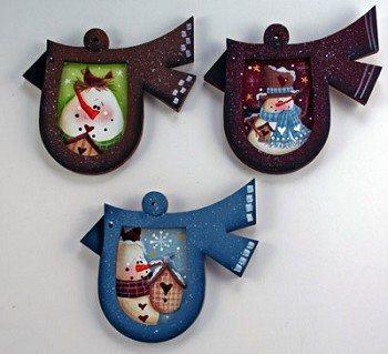 Laurie Speltz Packet - Bird Ornaments Packet