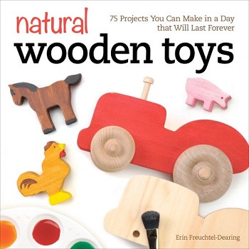 Natural Wooden Toys by Erin Freutchel