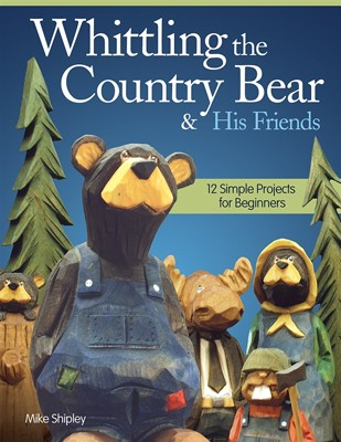Whittling Country Bear by Mike Shipley