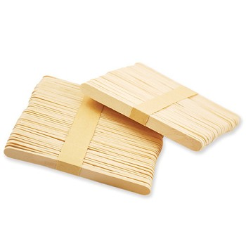 "Craft Sticks Natural - 4 1/2"" x 3/8"" - 100pc"