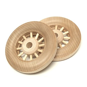 "Spoke Wheels Deluxe - 2 7/8"" (11/32"" Hole)"