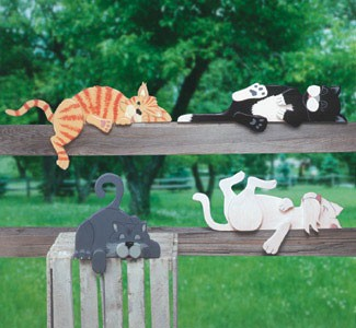 "Plan-Lazy Cats (up to 23"" long)"