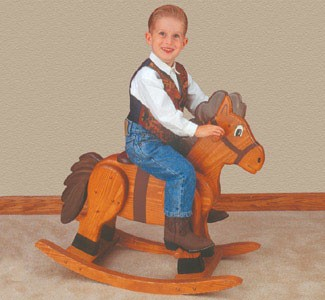 "Plan-Rocking Horse (19"" high to seat)"