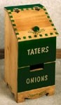 "Plan-Tater & Onion Box (23""h x 11""w)"