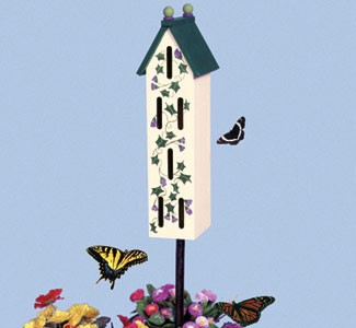 "Plan-Butterfly House (21"" high)"