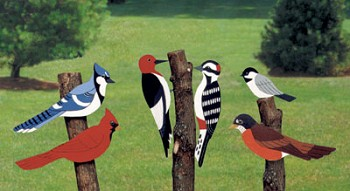 "Plan-Giant Yard Birds (23"" high)"
