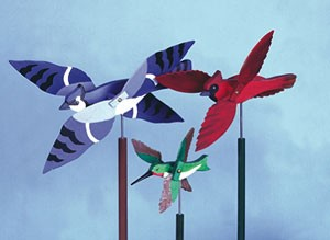 Plan-Wild Bird Whirligigs (11 bird designs)
