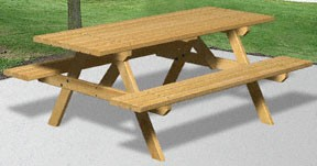 Plan-2x4 Picnic Table